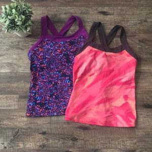{Lucy} Two Workout Tops
